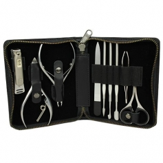 Seki Edge Craftsman Luxury 9-Pierce Grooming Kit (G-3104)