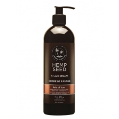 Hemp Seed Natural Body Care Shave Cream - Isle Of You