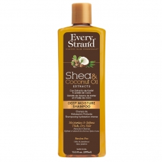 Every Strand Shea + Coconut Oil Deep Moisture Shampoo (399ml/13.5oz)