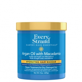 Every Strand Argan Oil + Macadamia Hydrating Hair Masque (425g/15oz)
