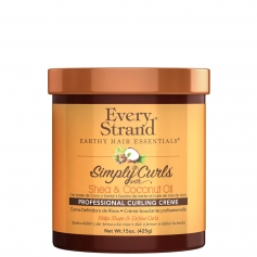 Every Strand Simply Curls w/ Shea + Coconut Oil Professional Curling Creme