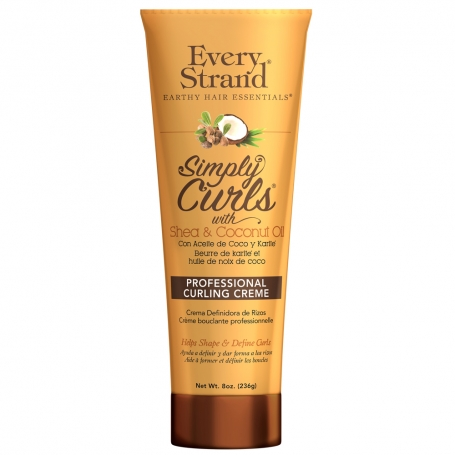 Every Strand Simply Curls w/ Shea + Coconut Oil Professional Curling Creme (425g/15oz)
