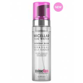 mintan Micellar Tan Water Everyday Glow Gradual Self Tanner (200ml/6.7oz)