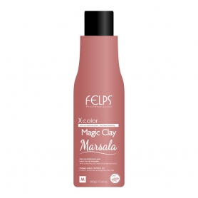 Felps XColor Marsala Magic Clay Red Tonalizer 500ml / 17.6oz