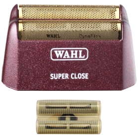 Wahl Professional 5 Star Super Close Shaver/Shaper Replacement Foil & Cutter Bar Assembly - Gold (7031-100)