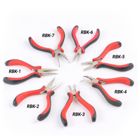 ProStylingTools Stainless Steel & Plastic Hair Extensions Pliers (RBK)