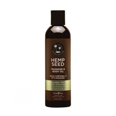 Hemp Seed Body Massage & Body Oil (237ml/8oz)