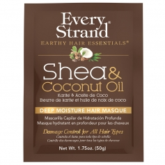 Every Strand Shea & Coconut Oil Deep Moisture Hair Masque Single-Use Packet (1.75oz/50g)