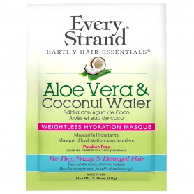 Every Strand Aloe Vera + Coconut Water Weightless Hydration Masque Single-Use Packet (1.75oz/50g)