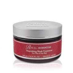 Royal Moroccan Nourishing Mask Treatmeent for Thin & Fine Hair