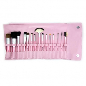 Crown 15pc Perfectly Pink Brush Set (517P)