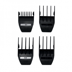 Wahl Professional White Peanut Cutting Guides - 4 Pack (3166-100)