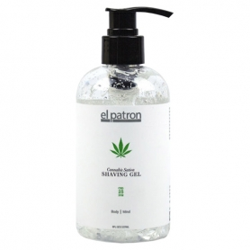 El Patron Cannabis Sativa Shave Gel (8oz)