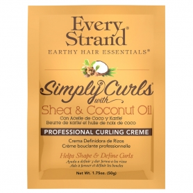 Every Strand Simply Curls w/ Shea & Coconut Oil Professional Curling Creme Packet (1.75oz)