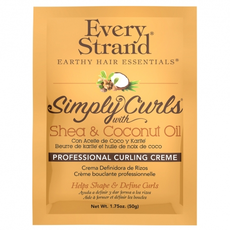 Every Strand Simply Curls w/ Shea & Coconut Oil Professional Curling Creme Packet