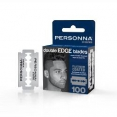 Personna X-Series Double Edge Platinum Coated Blades - 100 count (0262)