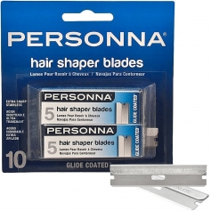 Personna Glide Coated Hair Shaper Blades - 10 count (8820B)