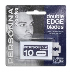 Personna X-Series Double Edge Platinum Coated Blades - 10 count (0264)