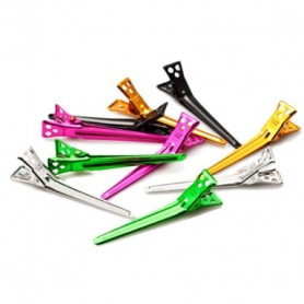 YS Park Medium Multicolored Clips - 10 pack
