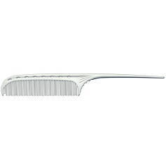 "YS Park 105 Tail Comb (3/4"") - White"
