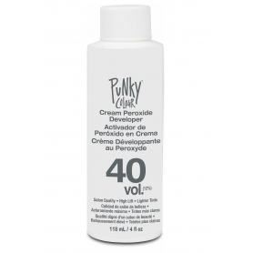 Punky Colour 40 Vol Cream Peroxide Developer (118ml/4oz)