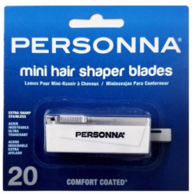 Personna Mini Hair Shaper Blades 20 Pack (8900B)
