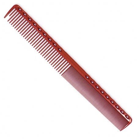 YS Park 331 Extra Super Long Fine Cutting Comb - Red