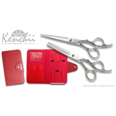 Kenchii Professional Rose Scissor & Thinner Set