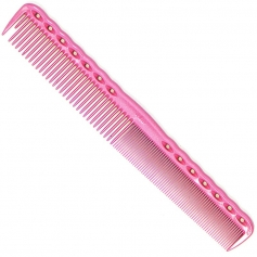 """YS Park 334 Cutting Comb 7.3"""" - Pink"""