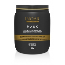 Inoar Macadamia Nut Deep Conditioning Mask 1kg/2.2lbs
