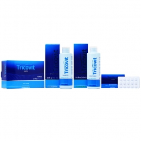 Tricovit Complete Hair Loss System (Steps 1-4)