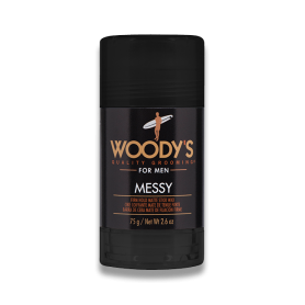 Woody's Messy Styling Stock Pomade for Men (2.6oz/75g)