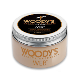 Woody's Texture Web Pomade for Men with Matte Finish (3.4oz/96g)
