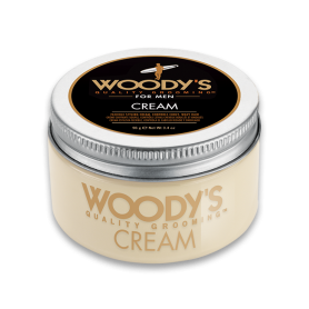 Woody's Flexible Styling Cream Pomade for Men (3.4oz/96g)