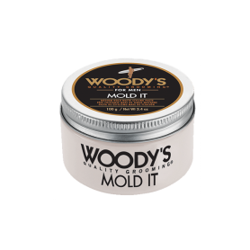 Woody's Mold It Matte Styling Paste for Men (3.4oz/100g)