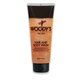 Woody's Hair & Body Wash for Men (296ml/10oz)