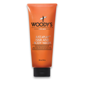 Woody's Just4Play Hair & Body Wash (296ml/10oz)