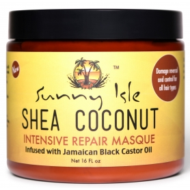 Sunny Isle Shea Coconut Intensive Repair Masque (16oz)