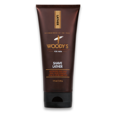 Woody's Moisturizing Shave Lather for Men (177ml/6oz)