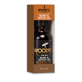 Woody's Beard & Tattoo Oil (30ml/1oz)