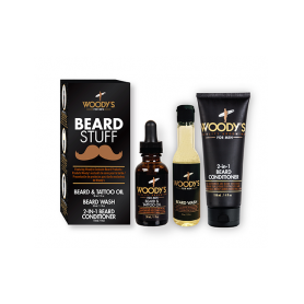 Woody's Beard Stuff Kit