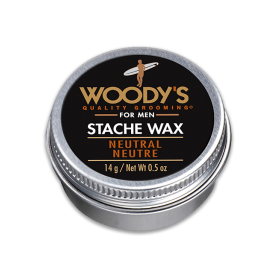 Woody's Stache Wax for Men (0.5oz/14g)