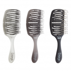 Olivia Garden iDetangle Flexible Vented Brush for Fine, Medium, or Thick Hair (ID)