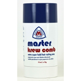Master Extra Super Hold Hair Styling Krew Comb (75ml/75g)