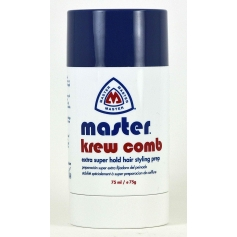 Master Extra Super Hold Hair Styling Krew Comb Stick (75ml/75g)