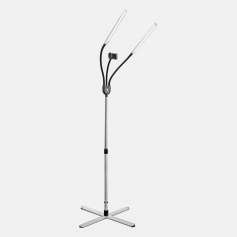 Daylight Premium Gemini LED Floor Lamp with Phone Mount