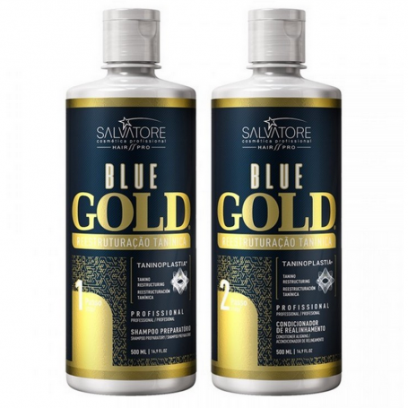 Salvatore Blue Gold Smoothing Treatment - Formaldehyde Free