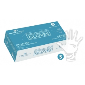 Olivia Garden Essentials Clear Vinyl Disposable Gloves (100 count)