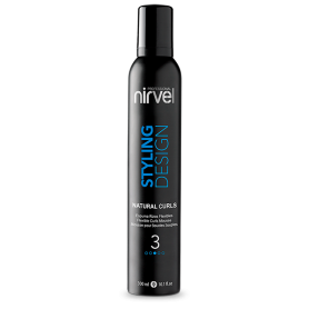Nirvel Professional Natural Curls Styling Mousse (300ml /10.1 oz)