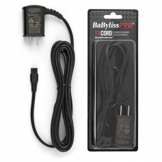 BaByliss PRO FX Cord Trimmer/Clipper Replacement Power/Charger Cord for Models FX870, FX820, FX788, FX787